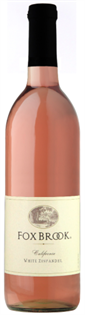 Fox Brook White Zinfandel 2013 750ml - Case of 12